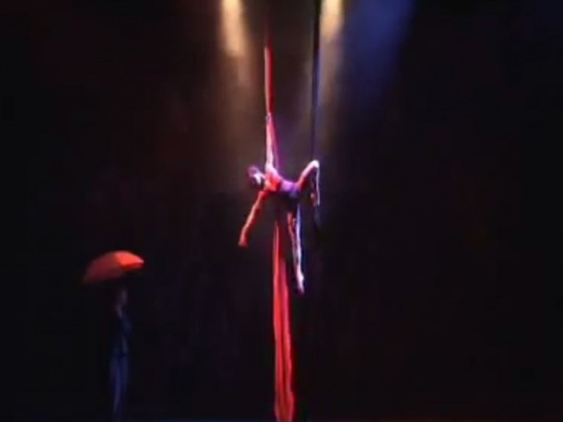 aerial silk act