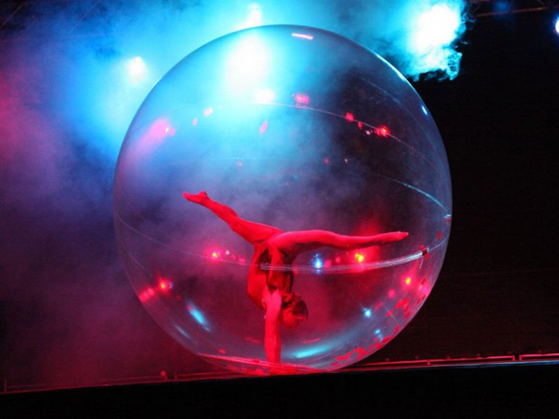show in balls