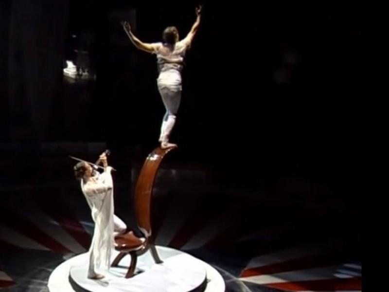 music and acrobatics