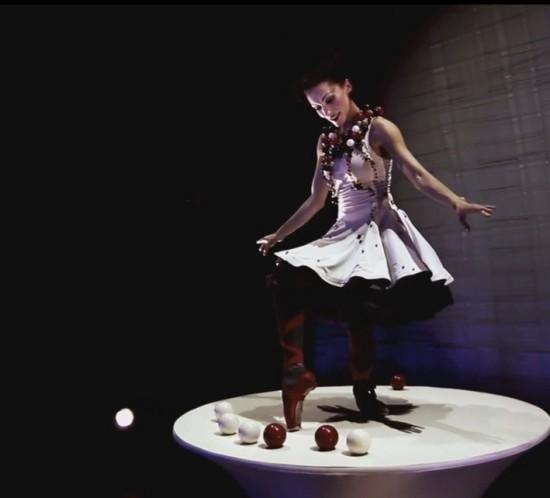 dancing and juggling