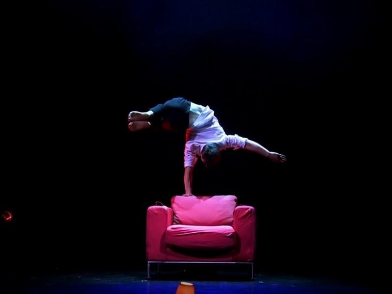handstand acrobatics