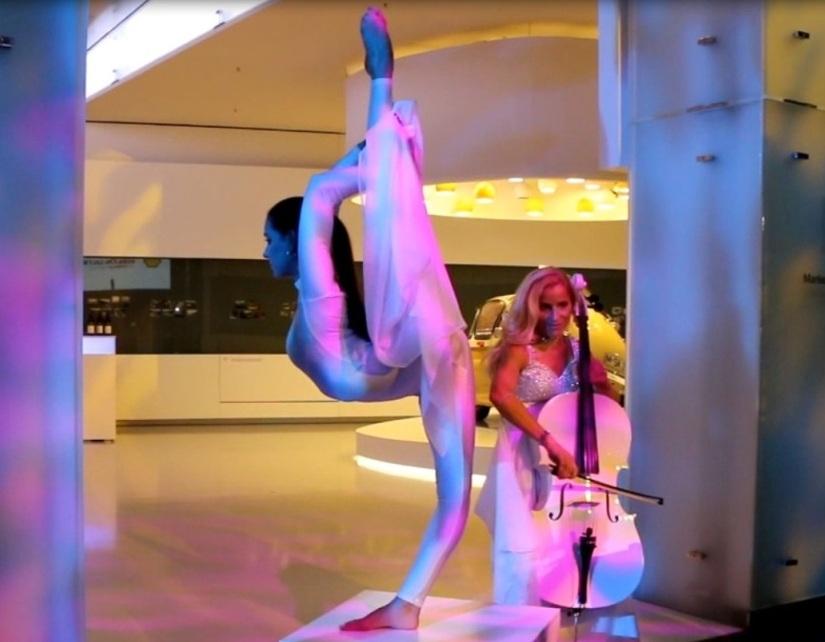 cello acrobatics